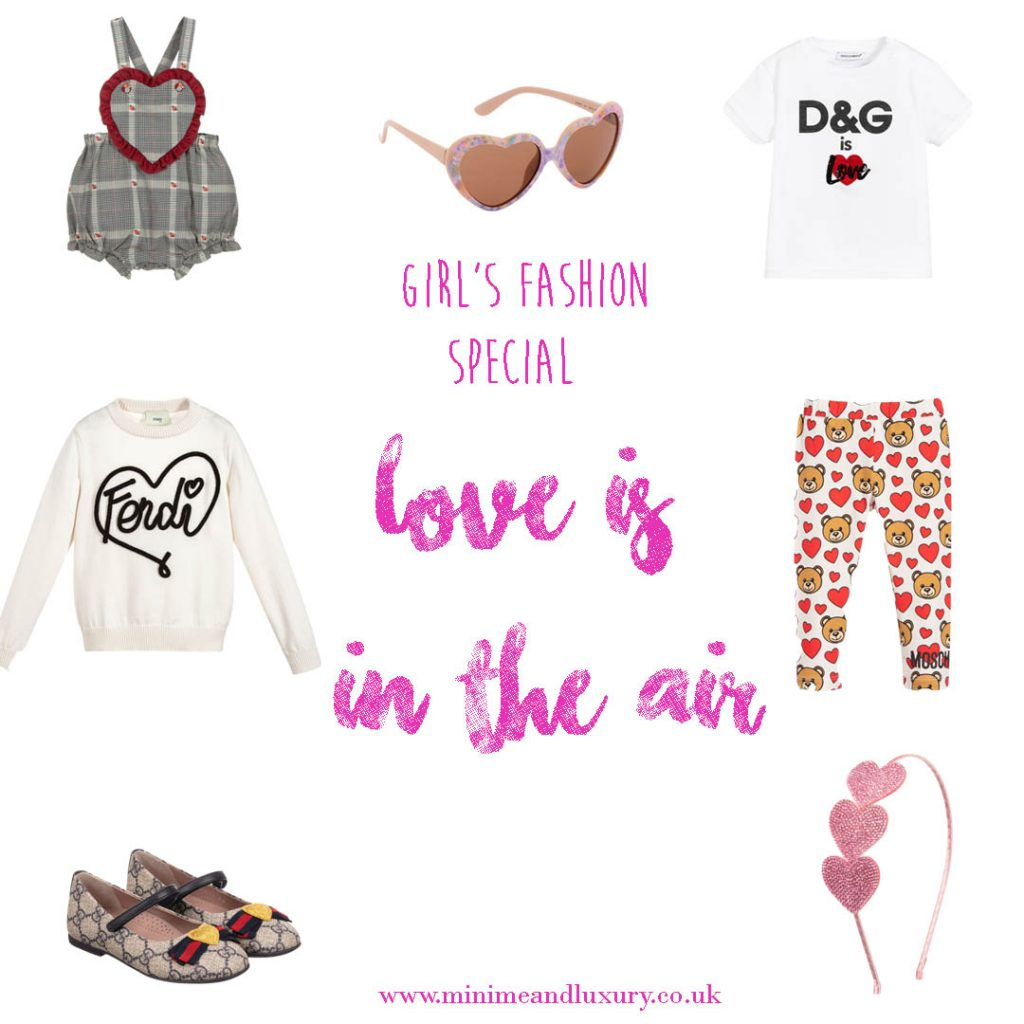 Love is in the air - girl's fashion special