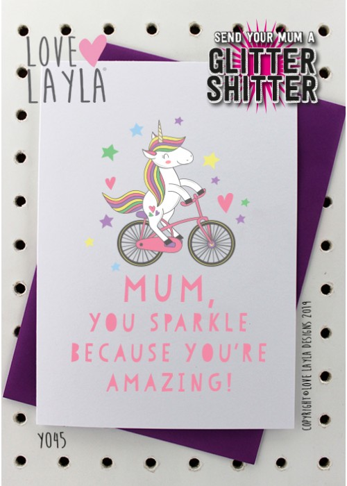 Ruin someone's day by sending them a SHITTER GLITTER – the card is sold with a small bag of glitter for you to empty into the blank card and send to your ...