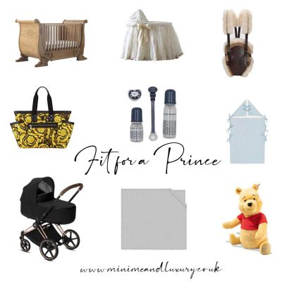 Luxury baby fit for a prince