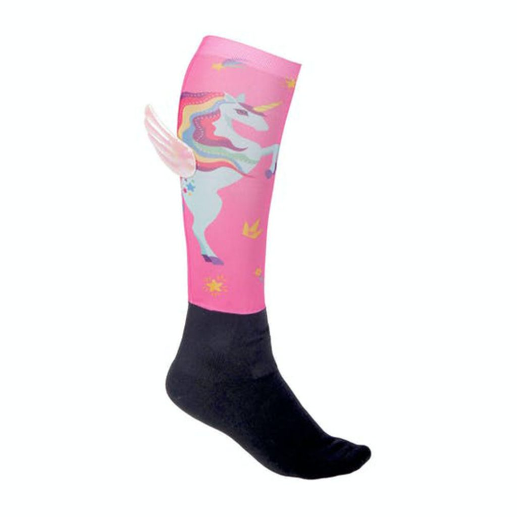 Unicorn horse riding socks