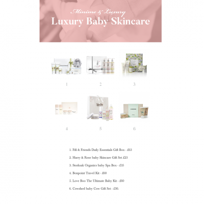 Luxury Baby Skincare