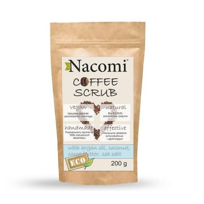 Nacomi coffee body scrub