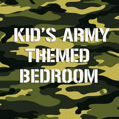 Army themed bedroom