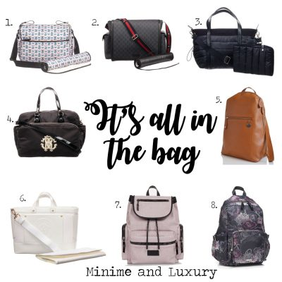 Luxury Changing bag Special