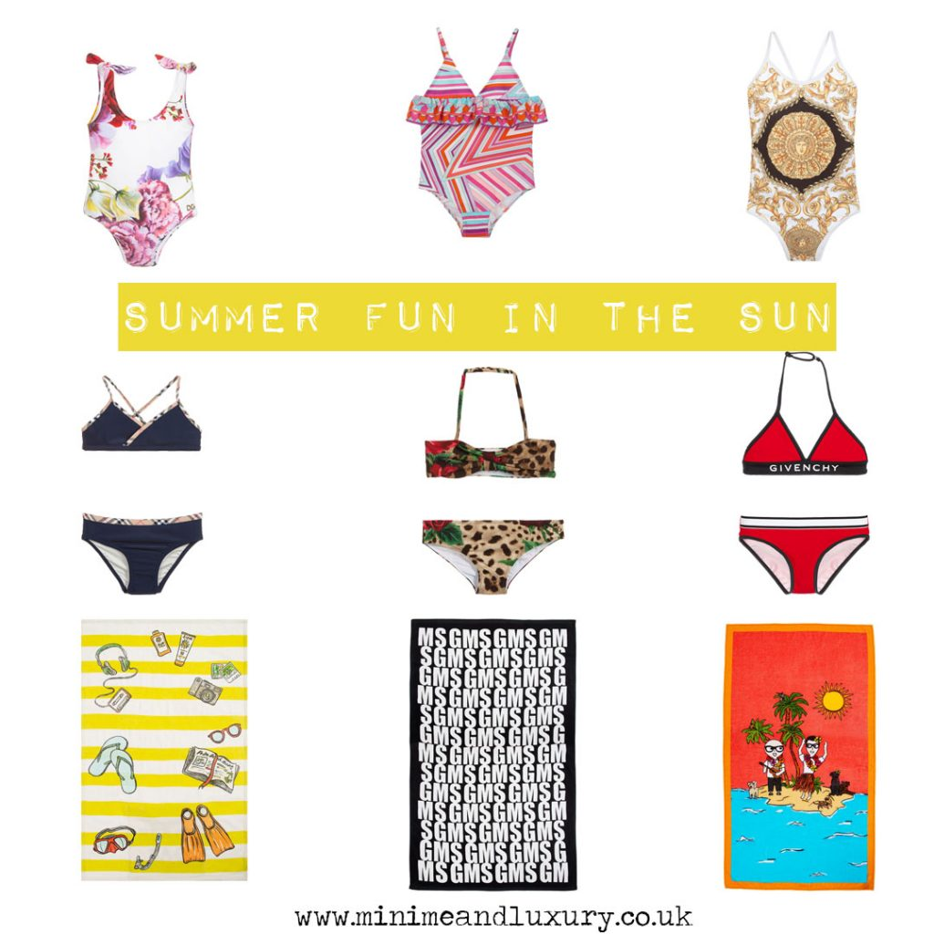 Summer fun in the sun girls beach fashion