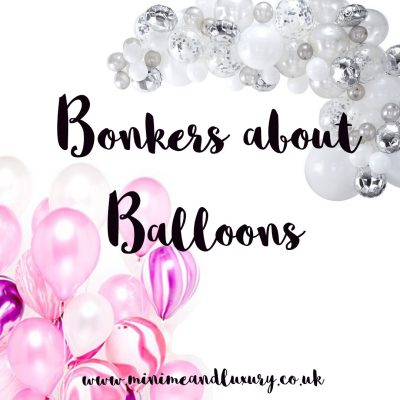 bonkers about balloons