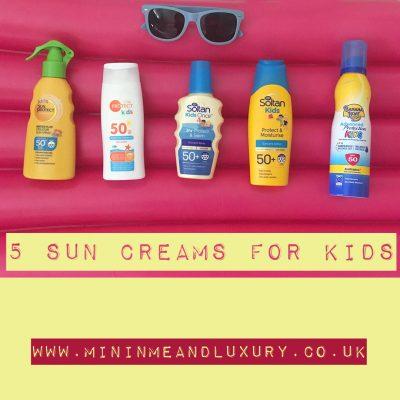 sun creams kids