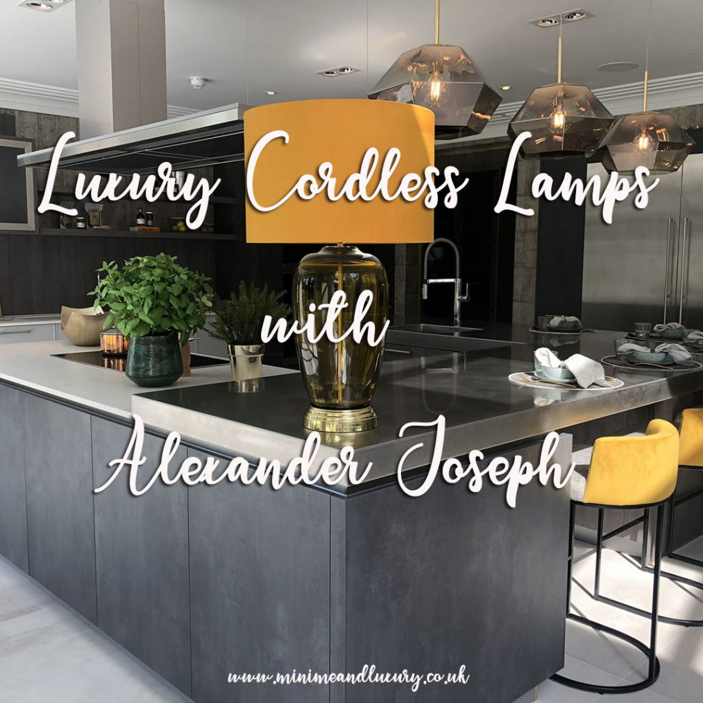 Luxury Cordless Lamps Alexander Joseph