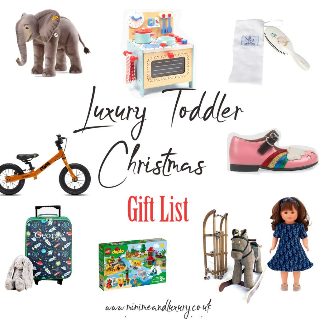 Luxury Toddler Xmas Gift List