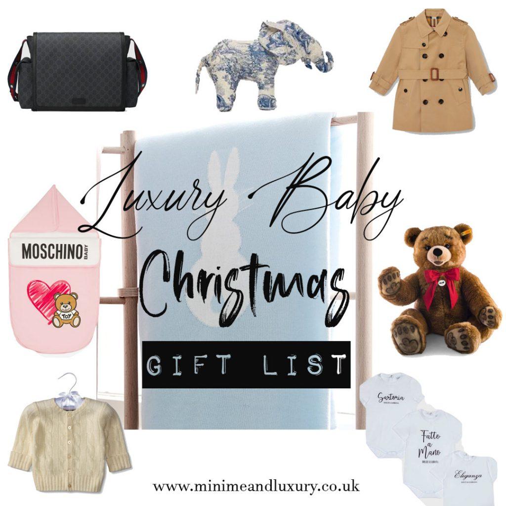 Luxury Baby Xmas Gift List