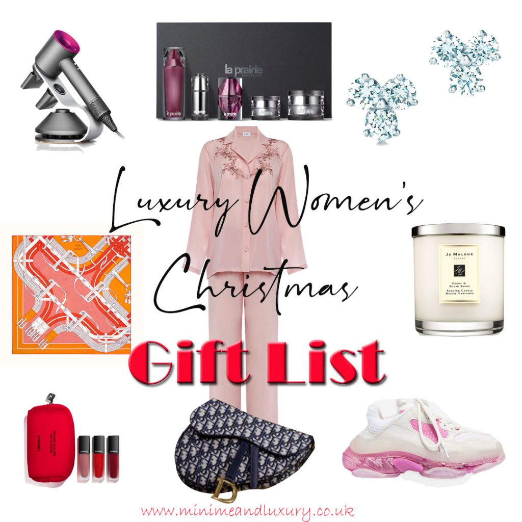 Luxury Women's Christmas Gift List