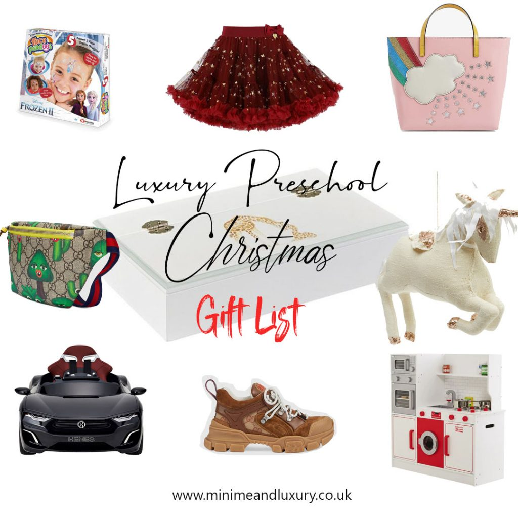 Luxury Preschool Xmas gift list