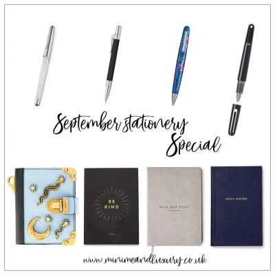 September Stationery Special