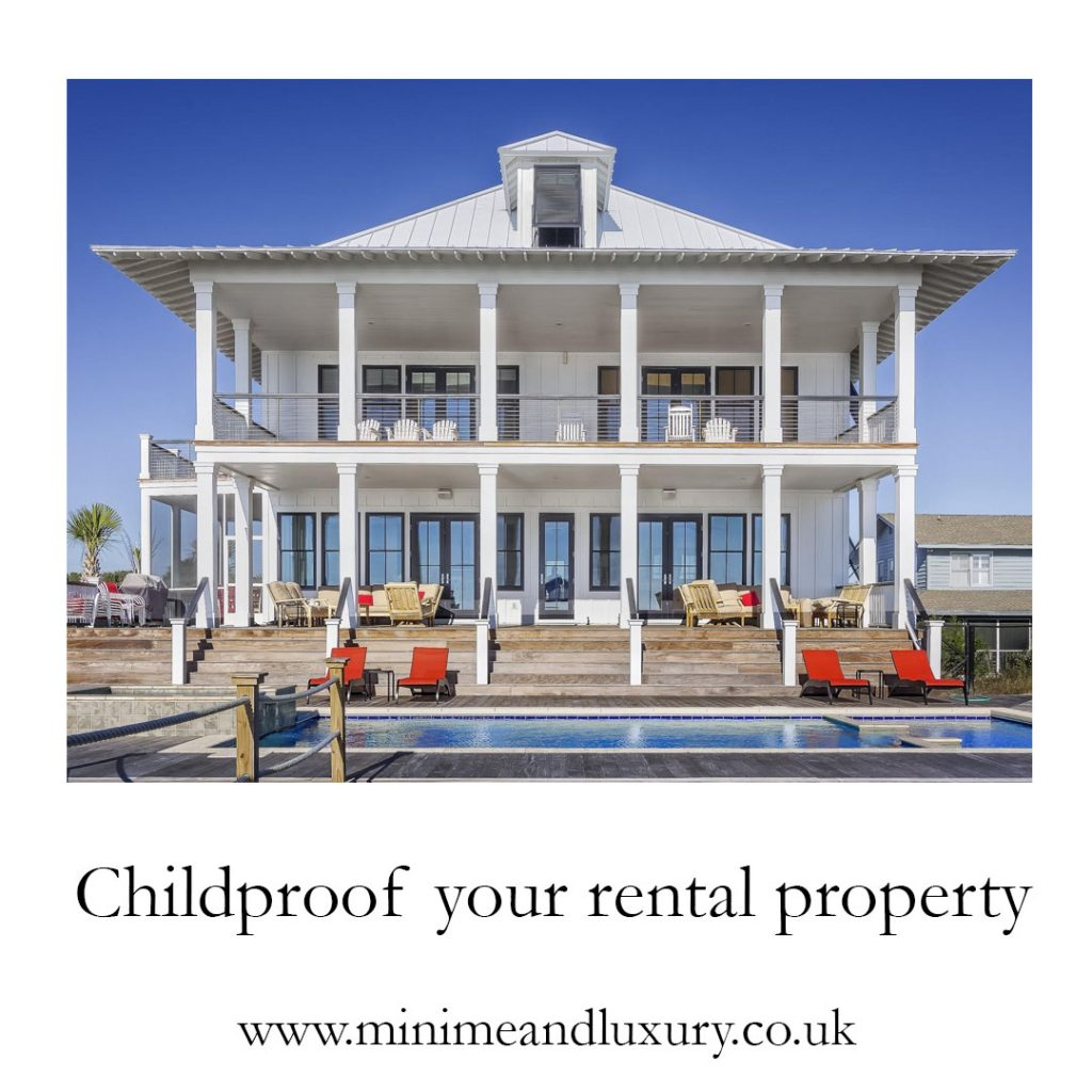 childproof your rental property