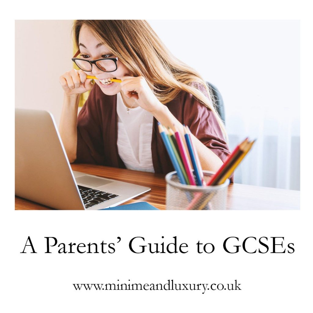 a parents' guide to GCSEs