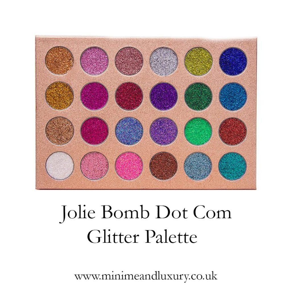 Jolie Bomb Dot Com glitter
