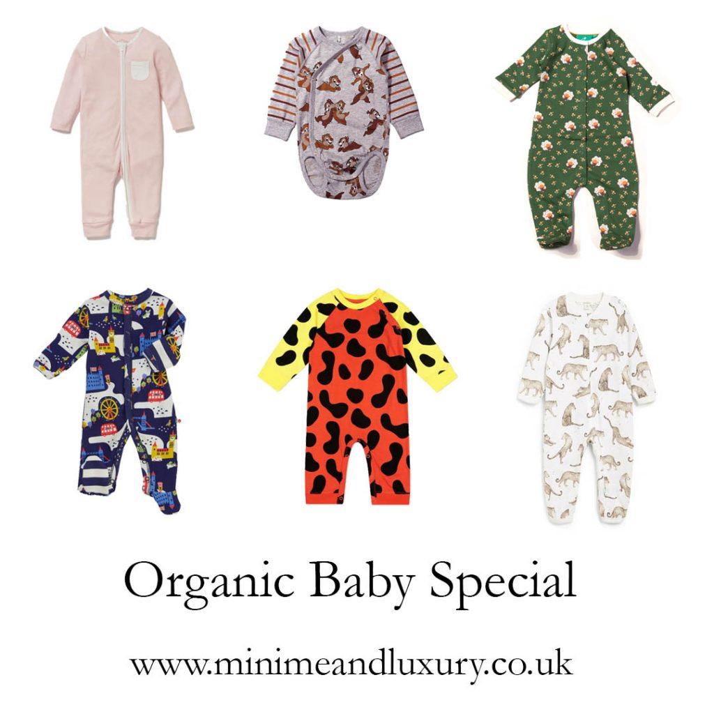 Organic babygrows