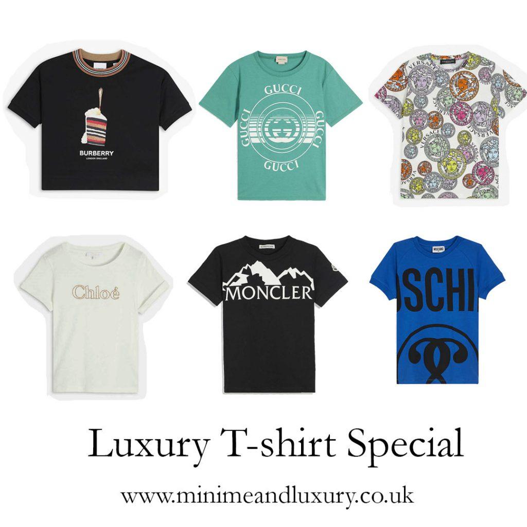 luxury kid's t-shirts