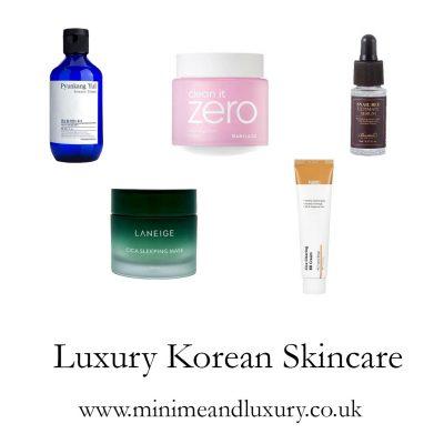 luxury Korean Skincare